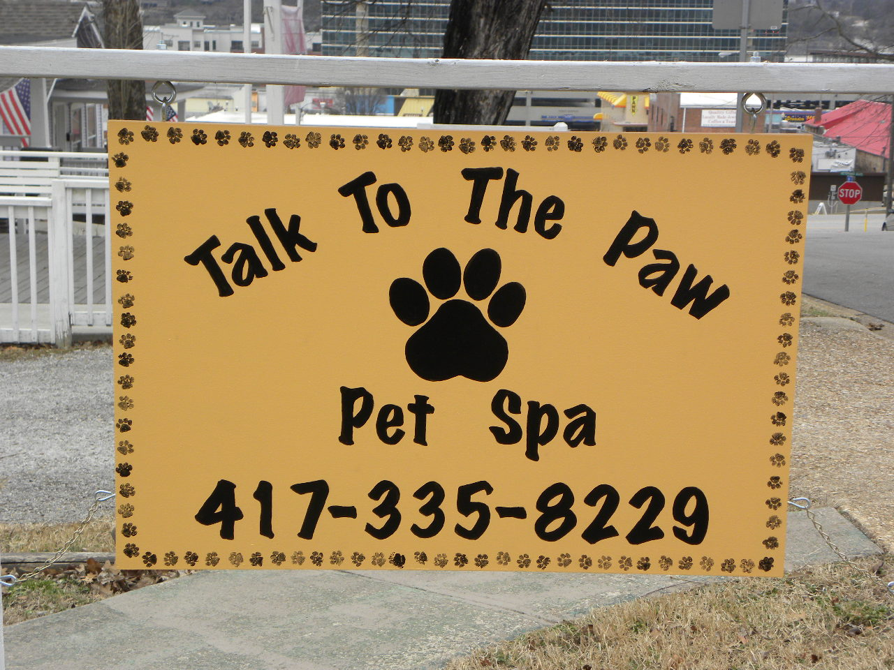 Downtown branson talk to the paw pet spa for 417 salon downtown